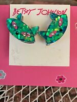 BETSEY JOHNSON EARRINGS BOUGHT IN USA