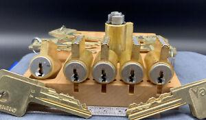 YALE KiK Lock Cylinder 1801 VC Keyway, 6 Pin 2 Keys Locksport