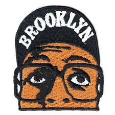 Brooklyn Basketball Player Emoji Embroidered Iron on Patch