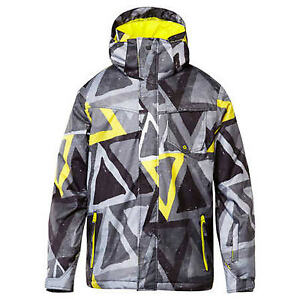 Quiksilver Mission Snowboard Jacket (S) Yellow