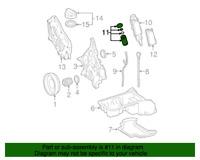 2X A0001802609, Genuine Mercedes-BENZ Engine Oil Filter OEM (2 FILTERS)