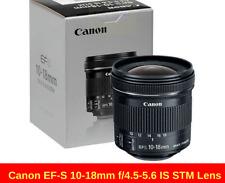 CANON EF-S 10-18mm f/4.5-5.6 IS STM UD Wide Angle Zoom New UK Lens EF S