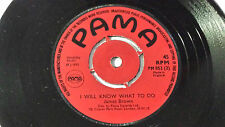 """James Brown - I Will Know What to Do /Reggae 7"""" on  Label Orig 1972 UK"""