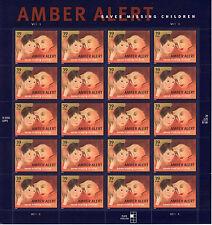 AMBER ALERT STAMP SHEET -- USA #4031 39 CENT 2006