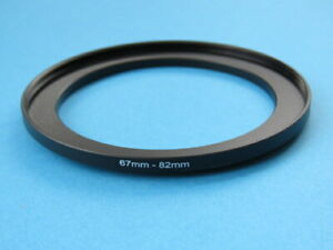 67mm to 82mm Step Up Step-Up Ring Camera Filter Adapter Ring 67-82mm