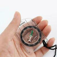 Scouts Military Compass Scale Ruler Baseplate Mini For Hiking Compass A6T7