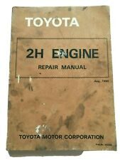 Toyota 2H Engine Service Repair Manual
