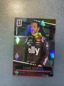 2020 Panini Chronicles Racing UNPARALLELED SQUARED card JIMMIE JOHNSON 8/25