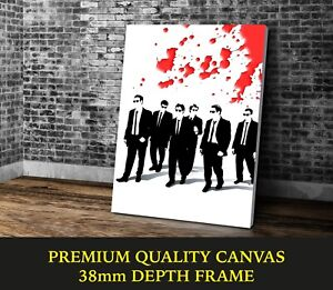 Reservoir Dogs Classic Movie Art Large CANVAS Print Gift A0 A1 A2 A3 A4