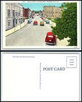 NORTH CAROLINA Postcard - Waynesville, Main Street Looking West K19
