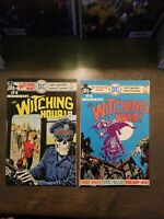 THE WITCHING HOUR 2 Book lot #57,58 VF DC COMICS