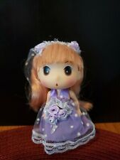 5 Inch Plastic Doll. Adorable! Use on Backpack,purse,jeans!Bend able!Cute!