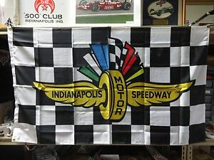 Indianapolis Motor Speedway Collector Flag Banners 2020 Indianapolis 500 104Th