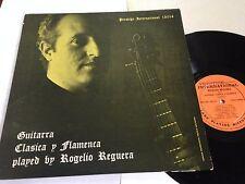 Rogelio Reguera - Guitarra Clasica y Flamenca Prestige International LP