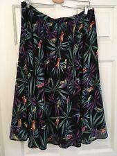 Womens Betty Page By Tatyana Parrort Skirt 4XL Tiki Pin Up Rockabilly VLV