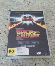 Back To The Future - The Trilogy - 3 Disc Dvd Collection - Excellent / Like New