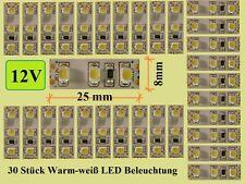 30 Stück MINI LED Hausbeleuchtung 2,5cm Modell- Beleuchtung Bahnsteig - E303