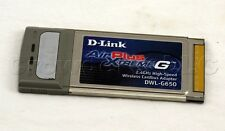 D Link Cardbus AirPlus Xtreme G 2.4 Ghz DWL - G650 Wireless Network Adapter