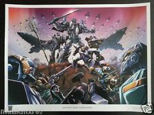 Transformers Con Botcon EXCLUSIVE Machine Wars TERMINATION - LE 375 Poster