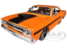 1970 PLYMOUTH GTX ORANGE 1:24 DIECAST MODEL CAR CUSTOM BY MAISTO 31016