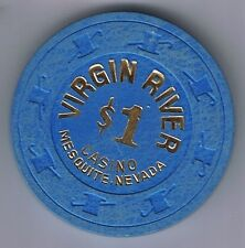 Virgin River $1.00 Casino Chip Mesquite Nevada 1994