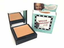 Benefit ** Hello Flawless ** AMBER Custom Powder Cover Up 0.25 oz Boxed