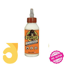1 Pack Gorilla Wood Glue- 8 ounce Bottle Easy-to-use