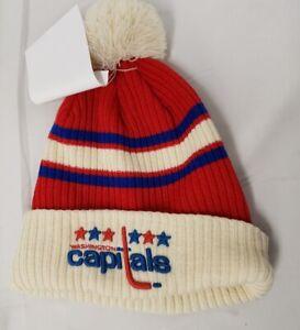 Brand New Official NHL Washington Capitals Fanatics Sport Cuffed knit Hat