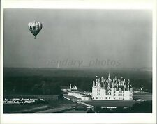 The Loire Valley in France with Balloon in Air Original Photo
