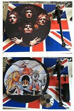 QUEEN A Day At The Races 7 or 12 inch TURNTABLE platter MAT see photos Queen II