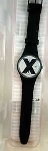 SWATCH  XX Rated Black SUOB402 Mint in Box 2018