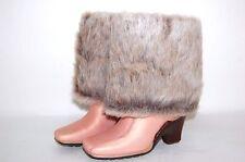 Timberland 14 Inch Baychester Furf 98369 Peach/Fur Women Boots