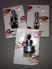 So-Cal roadster dash switch kit 1940 h/lights horn ign polished hot rod 1932