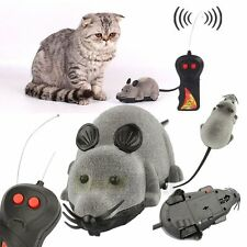 New Remote Control Rat Mouse Wireless For Cat Dog Pet Funny Toy Novelty Gift USA