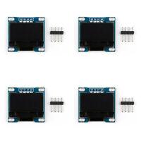 "4x 0.96 "" OLED Display I2C / IIC / TWI 128x64 Dots SSD1306 Display Module White/"