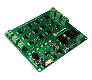 Traffic Light Controller / Sequencer 6-Channel / Arrows, Crosswalk & Dragstrip