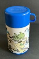 Vintage Walt Disney Mickey Mouse Hiking Lookout Peak Aladdin Thermos
