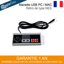 MANETTE CONTROLEUR DE JEU USB GAMEPAD RETRO TYPE NES ORDINATEUR PC WINDOWS MAC