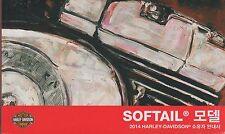 KOREAN 2014 HARLEY DAVIDSON MOTORCYCLE SOFTAIL P/N 99469-14K0 OWNER MANUAL (094)
