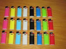 24 Stück BIC MINI Feuerzeug Reibrad J25 neutrale Farben sortiert