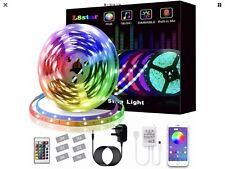 LED Strips Lights, L8star Led Lights 5m/16.4ft Color Changing SMD 5050 RGB Light
