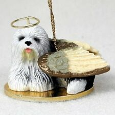 Old English Sheepdog Angel Hand Painted 75% Donation to Special Needs Rescue