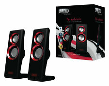 Sweex Purephonic 20 Watt USB PC Speakers - Laptop PC Computer Desktop Speakers