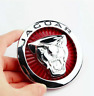 Jaguar 72mm Red Silver Logo Front Hood Bonnet Grill Radiator Badge Emblem