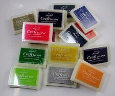 15 color Korea Stamps Partner Pigment Crafts Bright Ink Pad Set