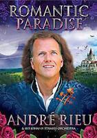 Andre Rieu Romántica Paradise 23 Tracks Universal Ue 2012 Region Free DVD Nuevo