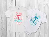 "Easter T-shirt/bodysuit my first easter"" Childrens Kids T Shirt/bodysuit"