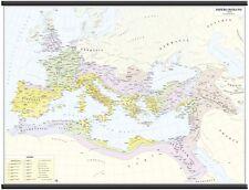 IMPERO ROMANO CARTINA STORICA MURALE [132X99 CM] [CARTA/MAPPA/POSTER] BELLETTI