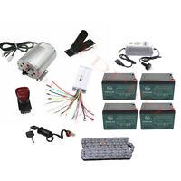 Electric Bike Drift Trike 48v 1800w Motor Controller Kit w/Battery Reverse Switc
