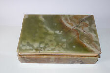 Gorgeous Vintage Onyx Marble Box. 1970's.